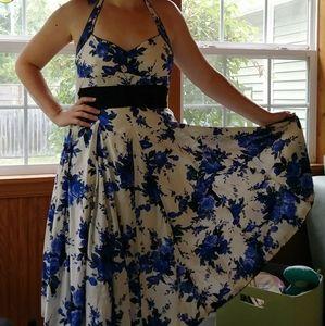 ModCloth Convertable Floral A Line dress